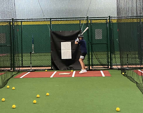 Indoor Token Operated Baseball & Softball Batting Cages | Extra Innings Indy South, IN