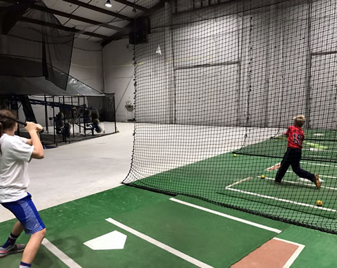 Indoor Hitting Leagues - HitTrax | Extra Innings Indy South